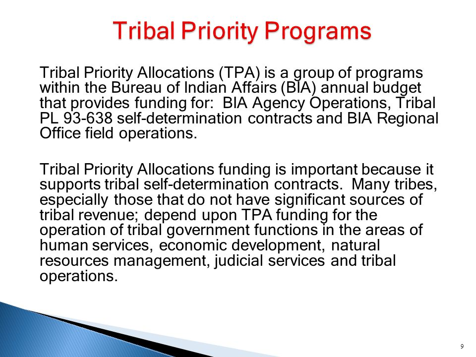  The Great Plains Tribes continue to experience insurmountable problems when attempting to provide law enforcement and judicial services to our people.