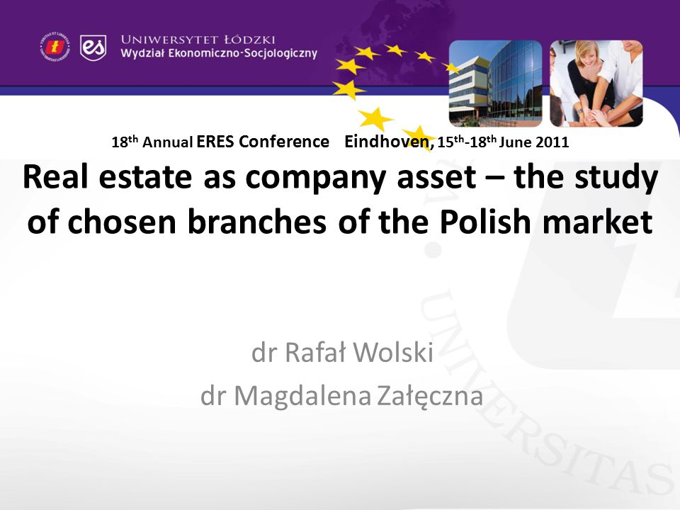 Real estate in company in Poland There are big differences among branches according to involvment in real estate, the was the reason authors chose transportation and storage and real estate activities to analyse – see table 1.