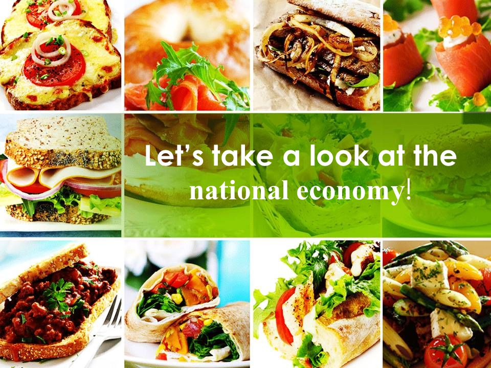 Let's take a look at the national economy !