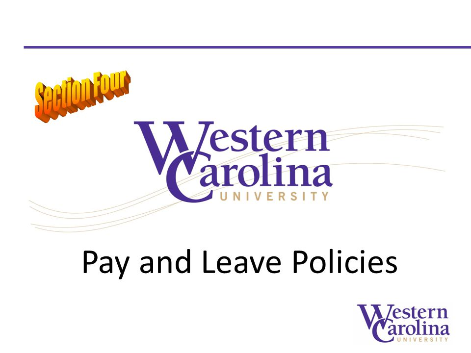 Pay and Leave Policies
