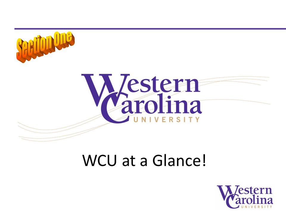 WCU at a Glance!