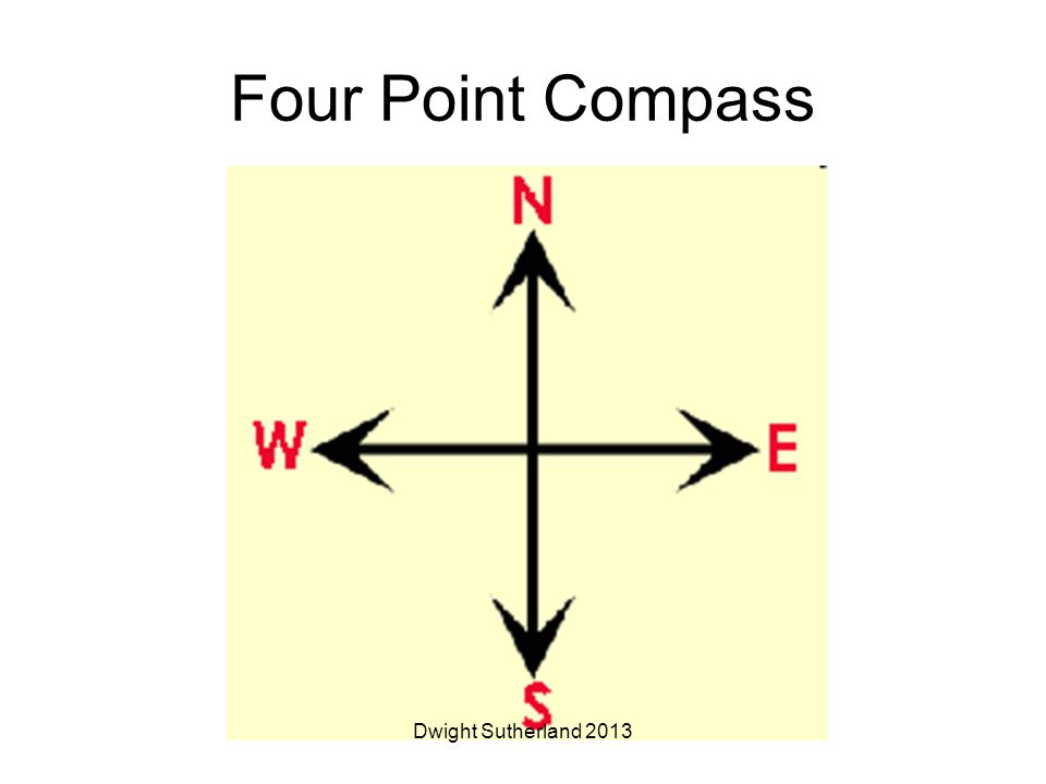 Four Point Compass Dwight Sutherland 2013