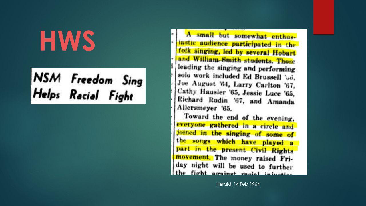 Herald, 14 Feb 1964 HWS