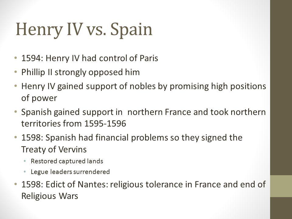 Henry IV vs.