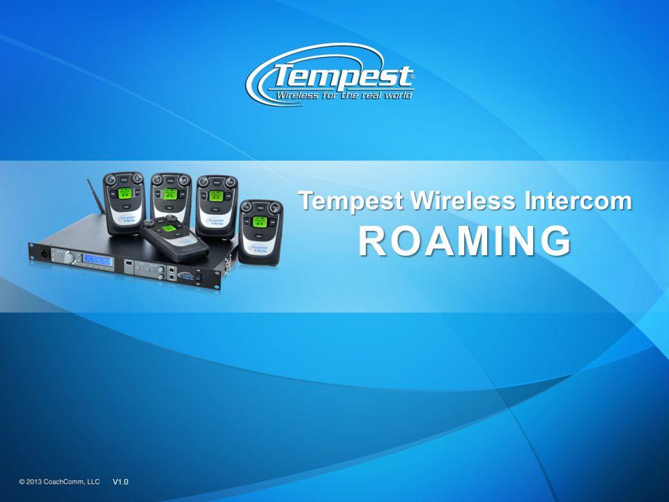 Tempest Wireless Intercom ROAMING V1.0