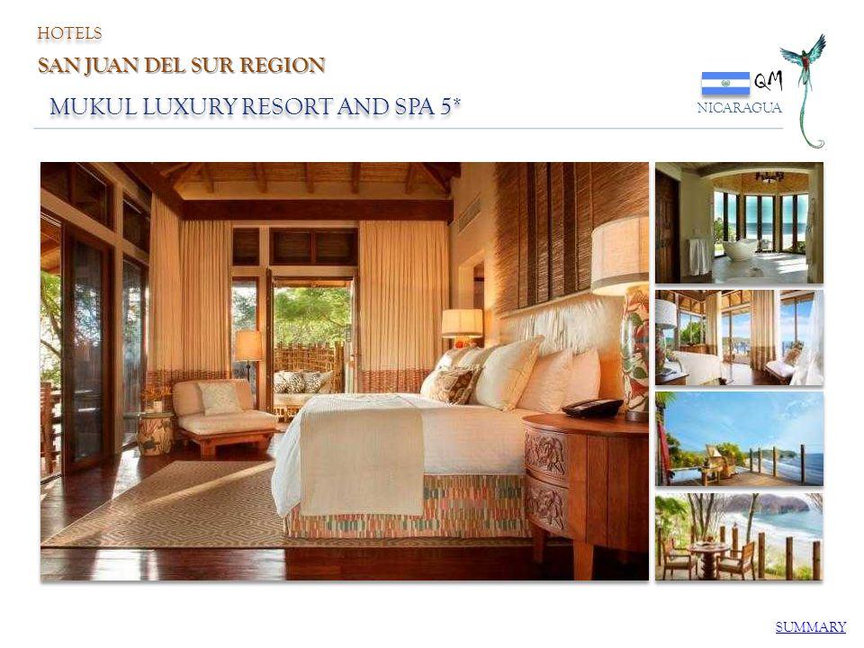 MUKUL LUXURY RESORT AND SPA 5* QM NICARAGUA SUMMARY HOTELS SAN JUAN DEL SUR REGION