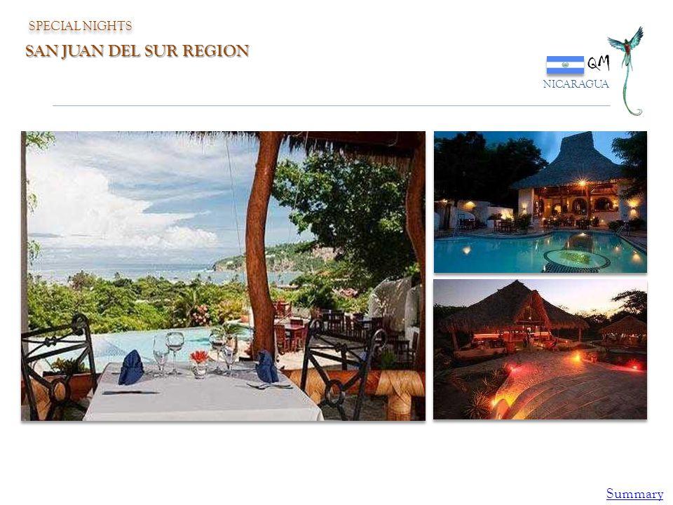 QM NICARAGUA SPECIAL NIGHTS SAN JUAN DEL SUR REGION Summary
