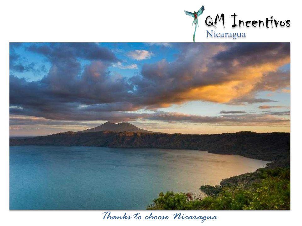 Thanks to choose Nicaragua QM Incentivos Nicaragua