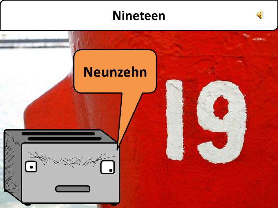 Achtzehn Eighteen