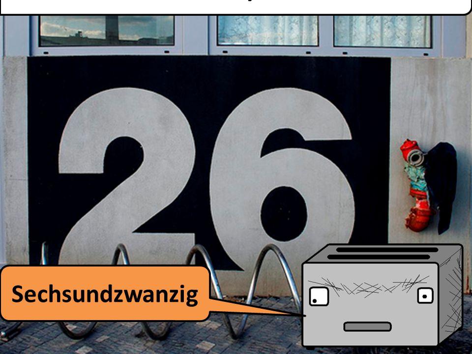 Fünfundzwanzig Twenty Five