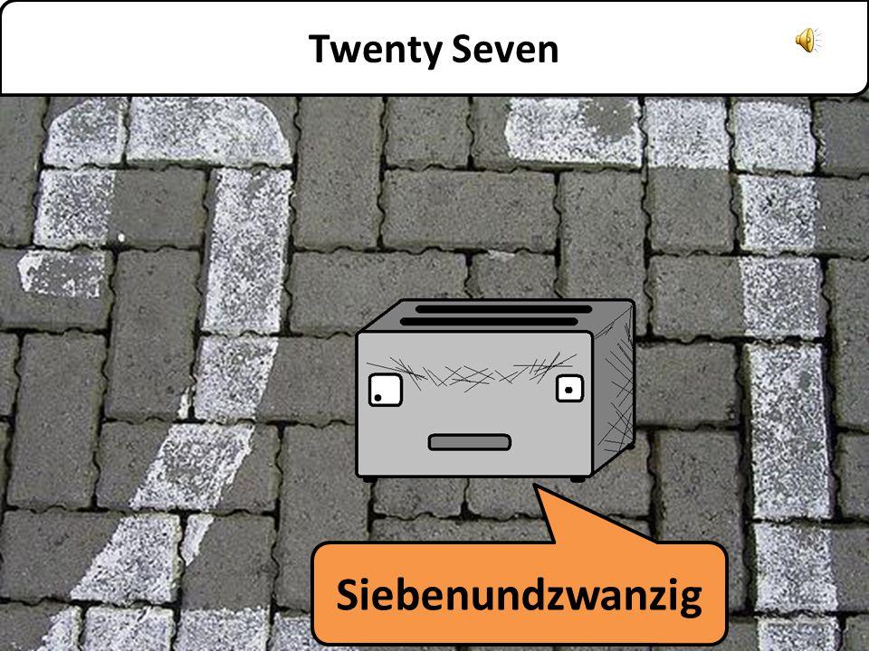 Sechsundzwanzig Twenty Six