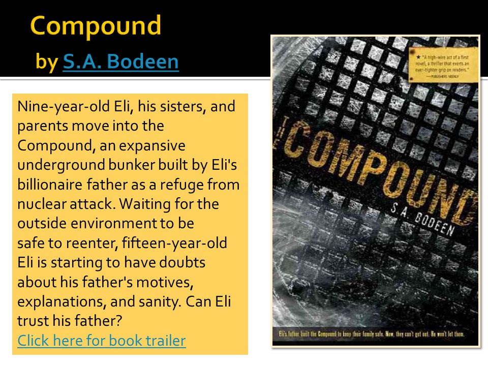 All summaries and photo covers from: 2012 Teen Nominees Book Resources. Nutmeg Book Award.