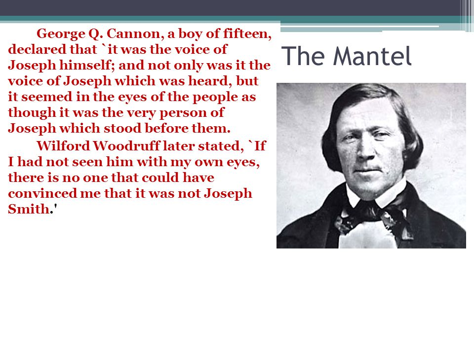 The Mantel George Q.