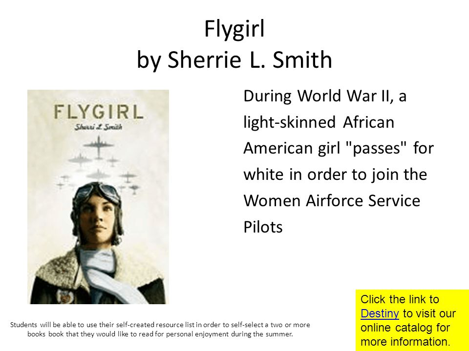 Flygirl by Sherrie L.