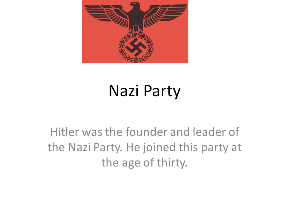 Marriage and Death Hitler married his girlfriend under his bunker.
