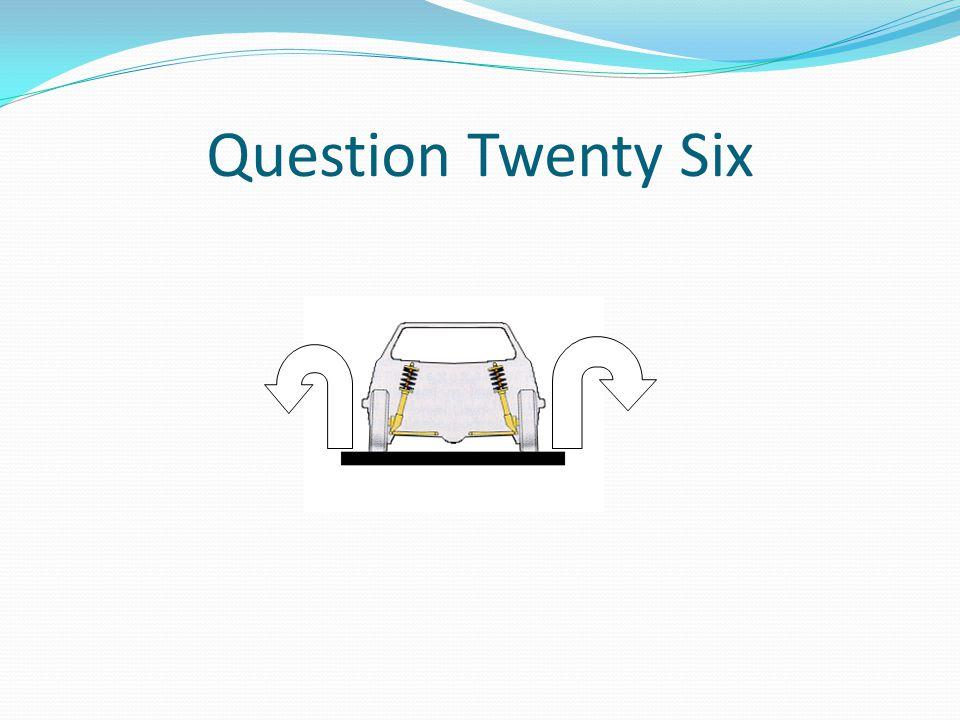 Question Twenty Six