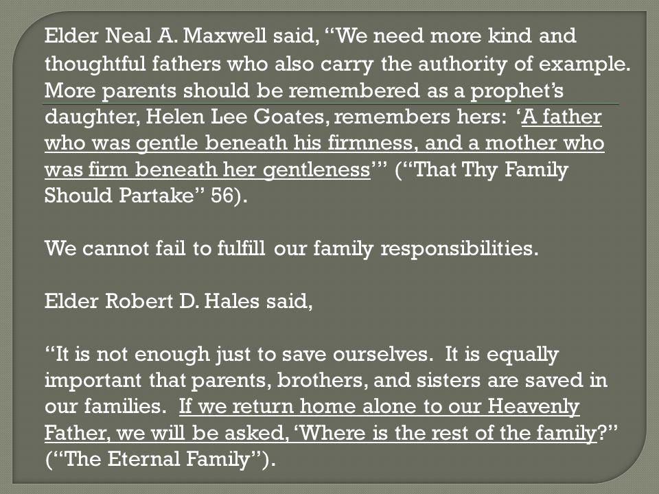 Elder Neal A.
