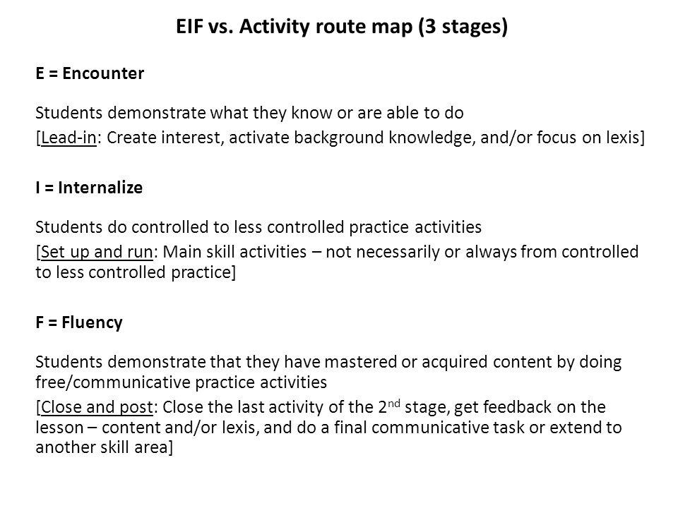 EIF vs.