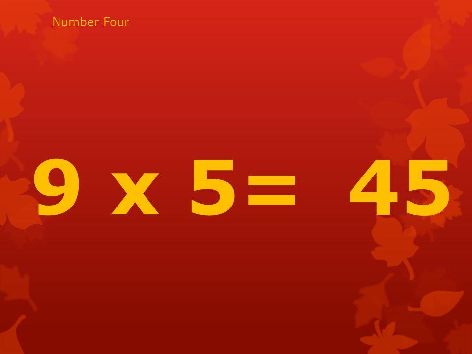8 x 10= 80 Number fifteen