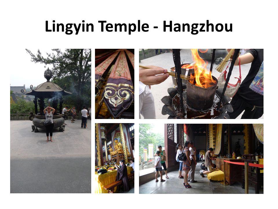 Lingyin Temple - Hangzhou
