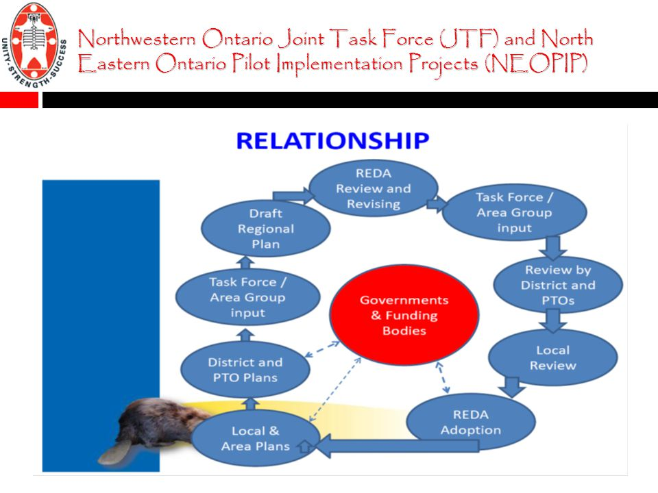 Northwestern Ontario Joint Task Force (JTF) and North Eastern Ontario Pilot Implementation Projects (NEOPIP)