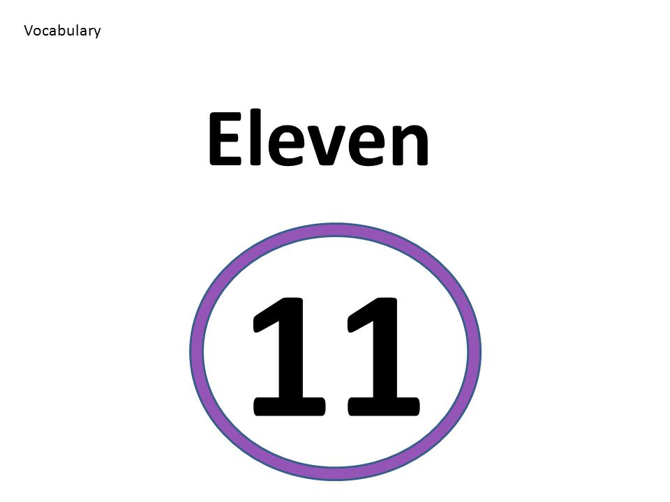 Vocabulary Eleven 11