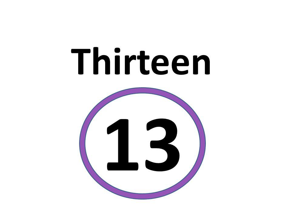 Thirteen 13