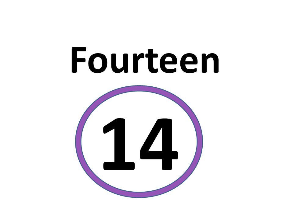Fourteen 14