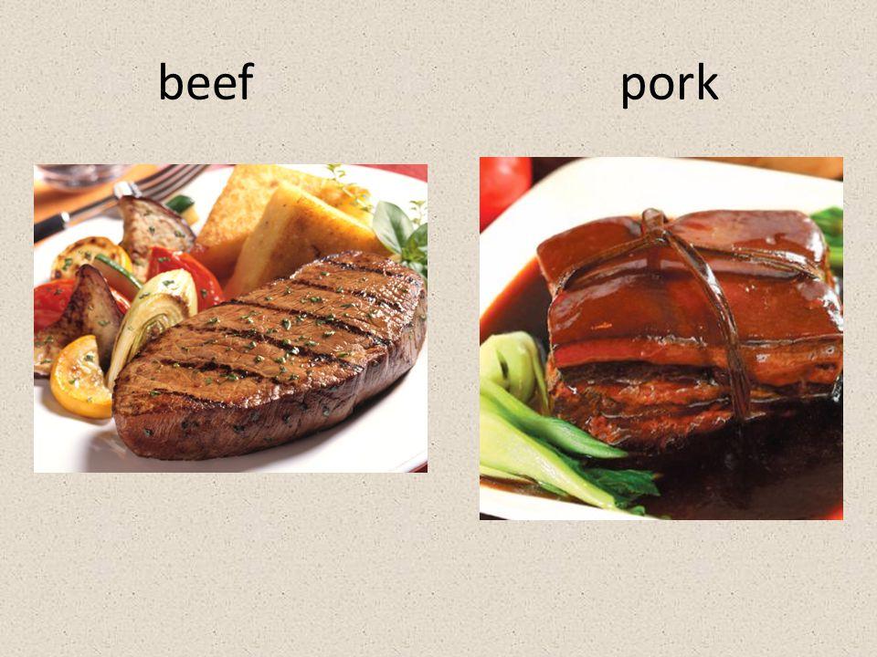 beef pork