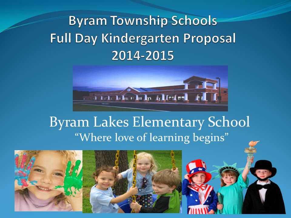 "Byram Lakes Elementary School ""Where love of learning begins"""