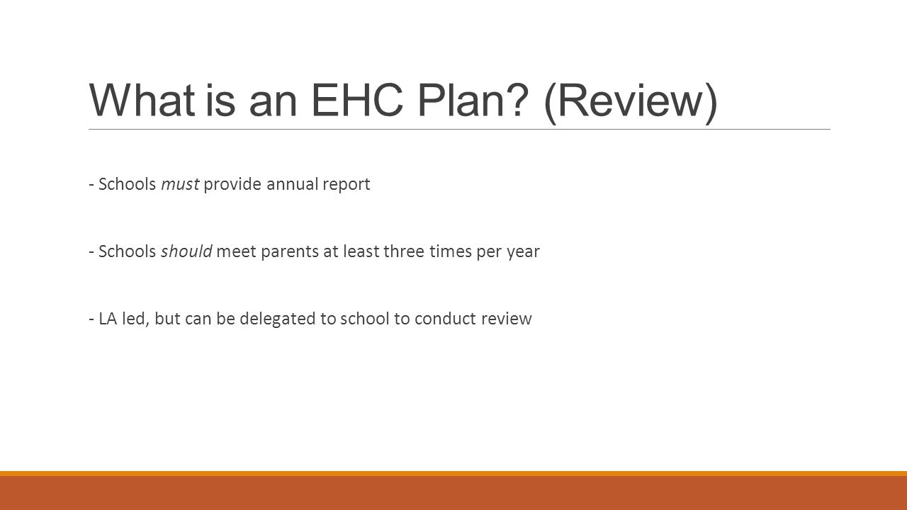 What is an EHC Plan.