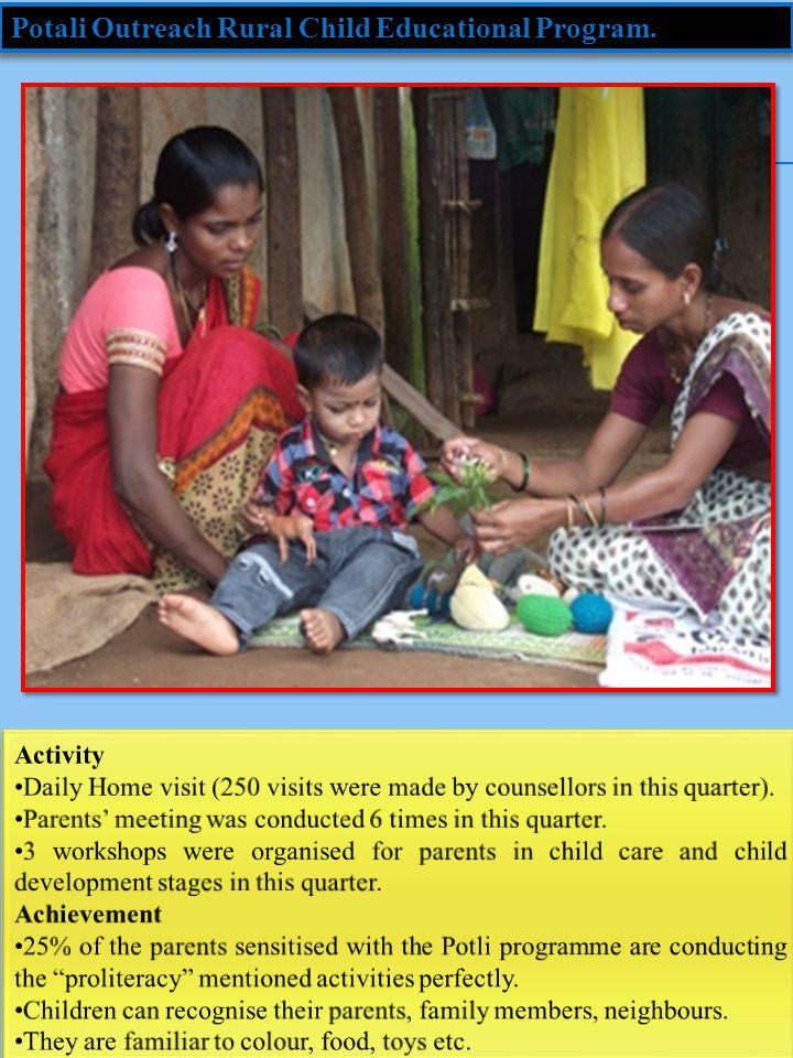 Potali Outreach Rural Child Educational Program.