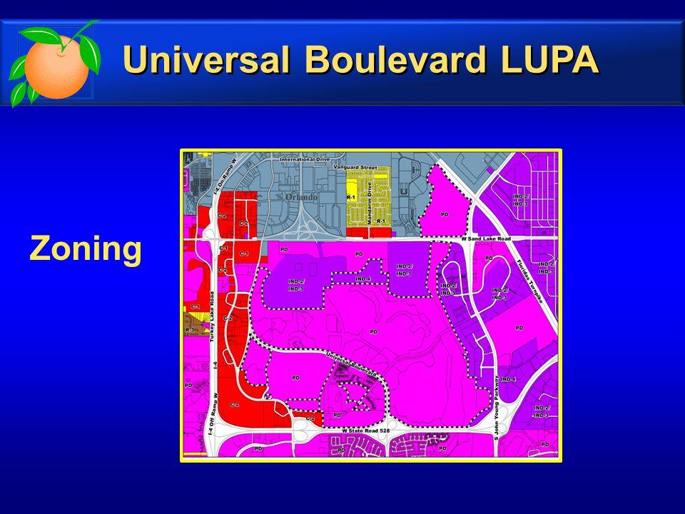 Zoning Universal Boulevard LUPA