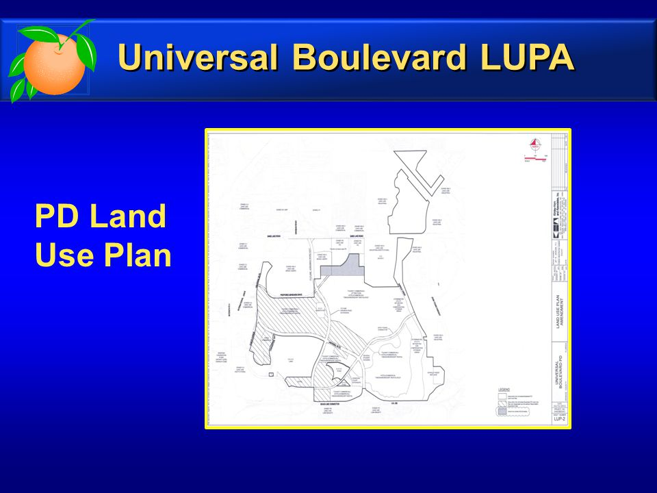 PD Land Use Plan Universal Boulevard LUPA