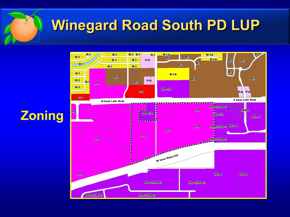 Future Land Use Future Land Use Winegard Road South PD LUP