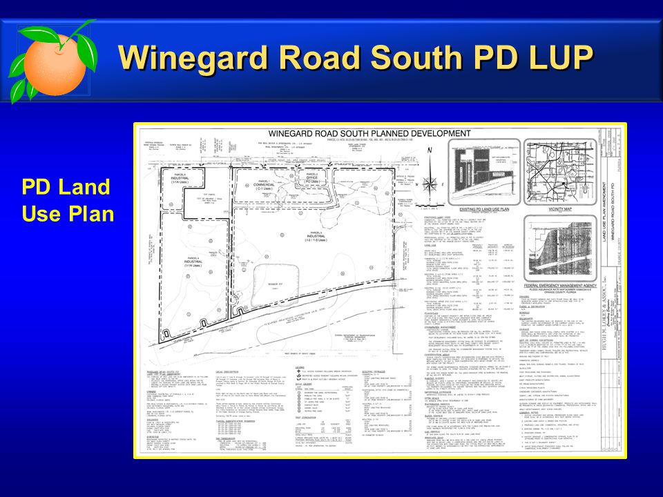 PD Land Use Plan Winegard Road South PD LUP