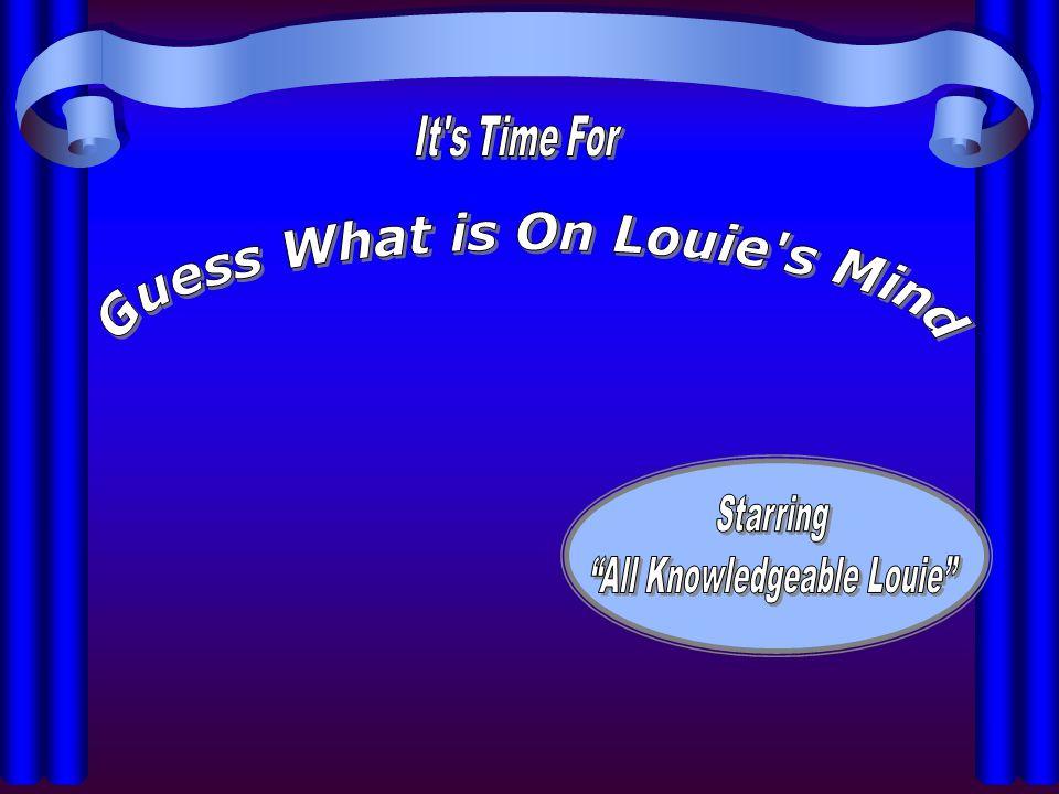 1.Mid Atlantic Ridge Round Four-Louie is Thinking… 2.