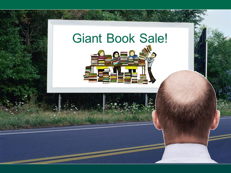Giant Book Sale!