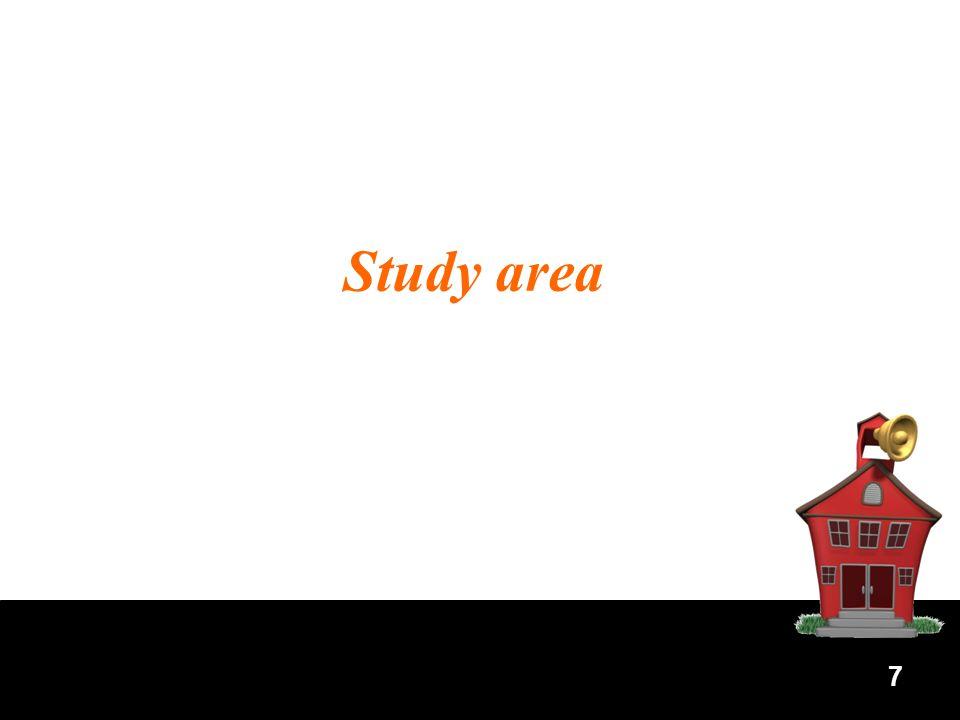 7 Study area