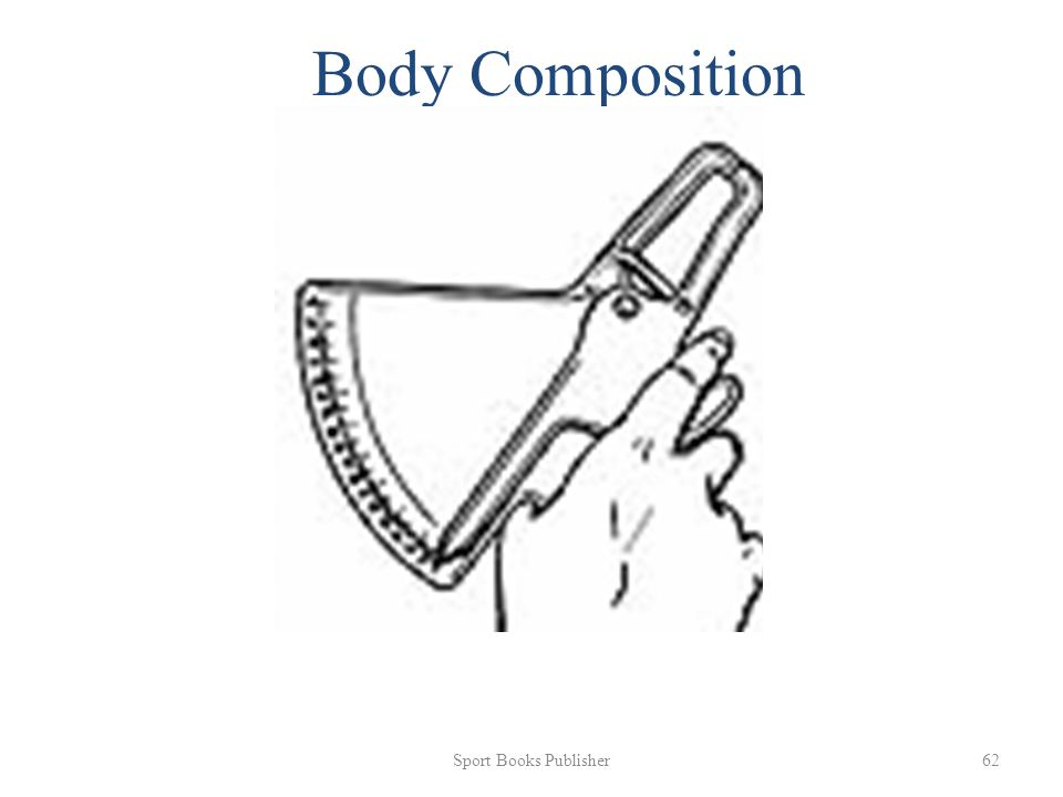 Sport Books Publisher 62 Body Composition