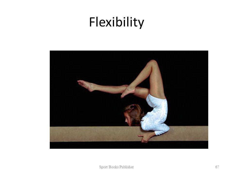 Flexibility Sport Books Publisher 67