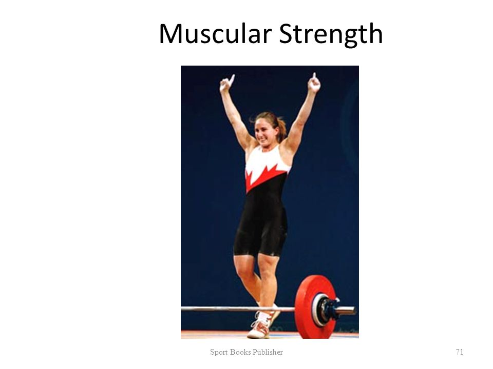 Muscular Strength Sport Books Publisher 71