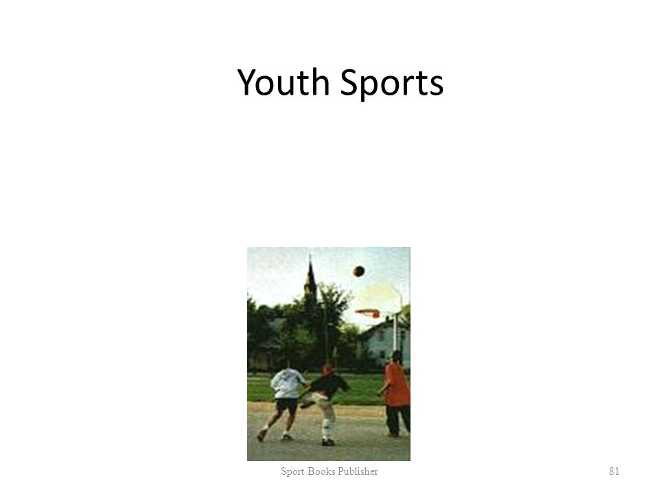 Youth Sports Sport Books Publisher 81