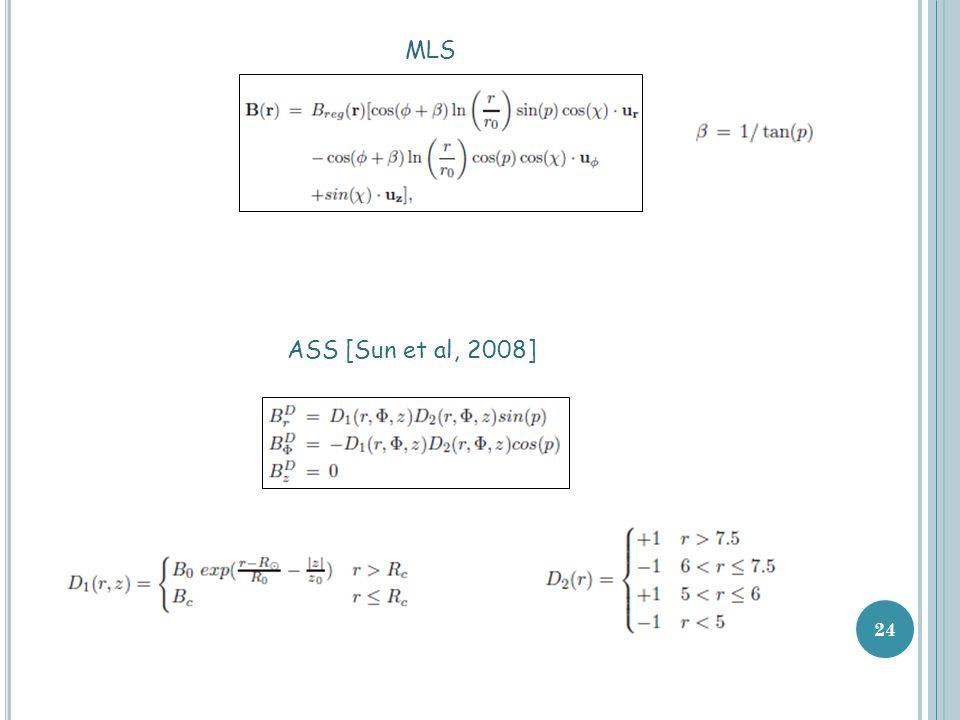 24 MLS ASS [Sun et al, 2008]