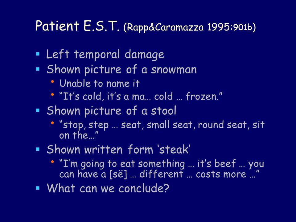 Patient E.S.T.