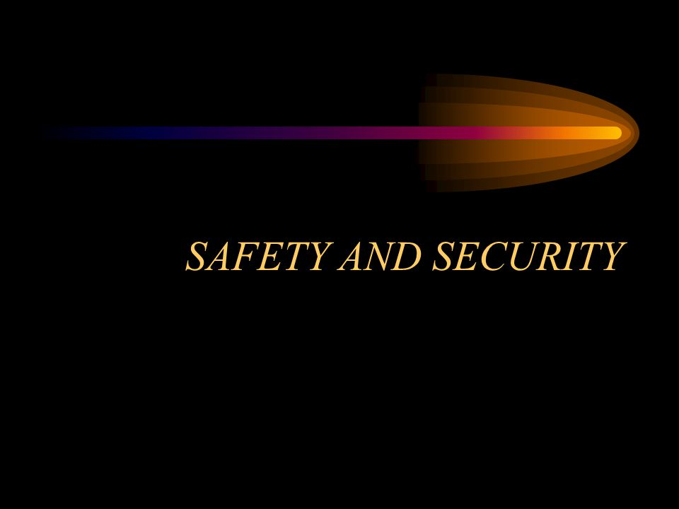 summary All service personnel should posses adequate knowledge of safety measures to e followed at work.