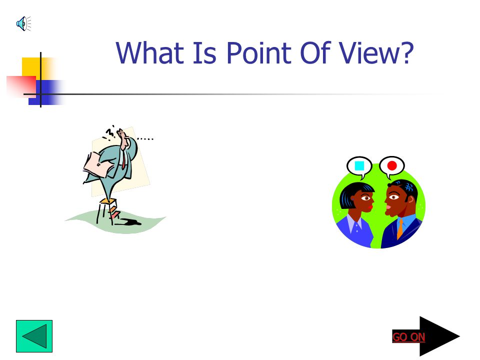 What Is Point Of View?