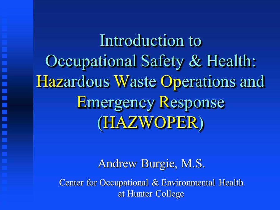 When Is It Hazardous Waste.