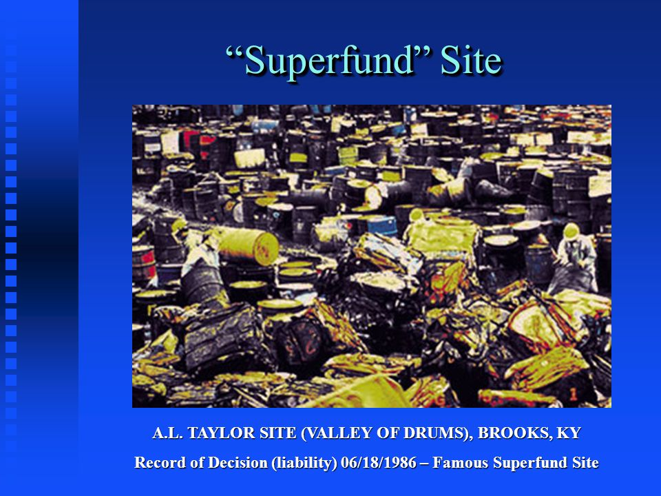 Superfund Site A.L.