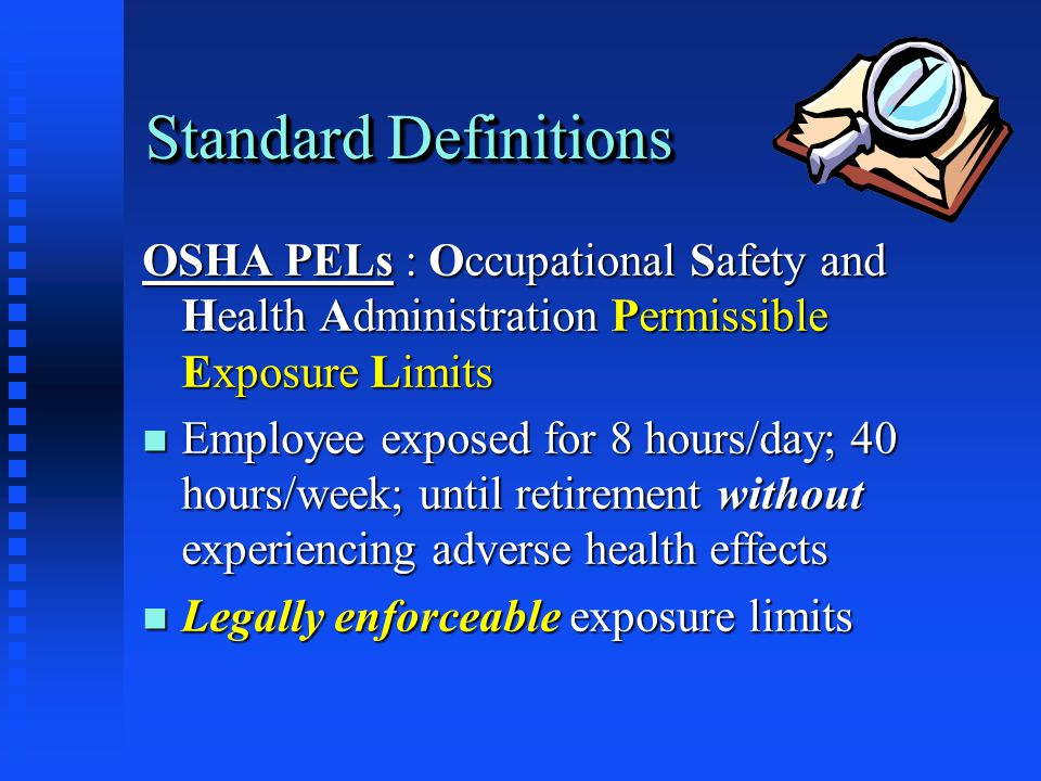 OSHA General Duty Clause Employee has right to safe and healthy workplace n Employer must provide safe & healthy workplace n Employee must abide by rules and regulations insuring a safe & healthy workplace